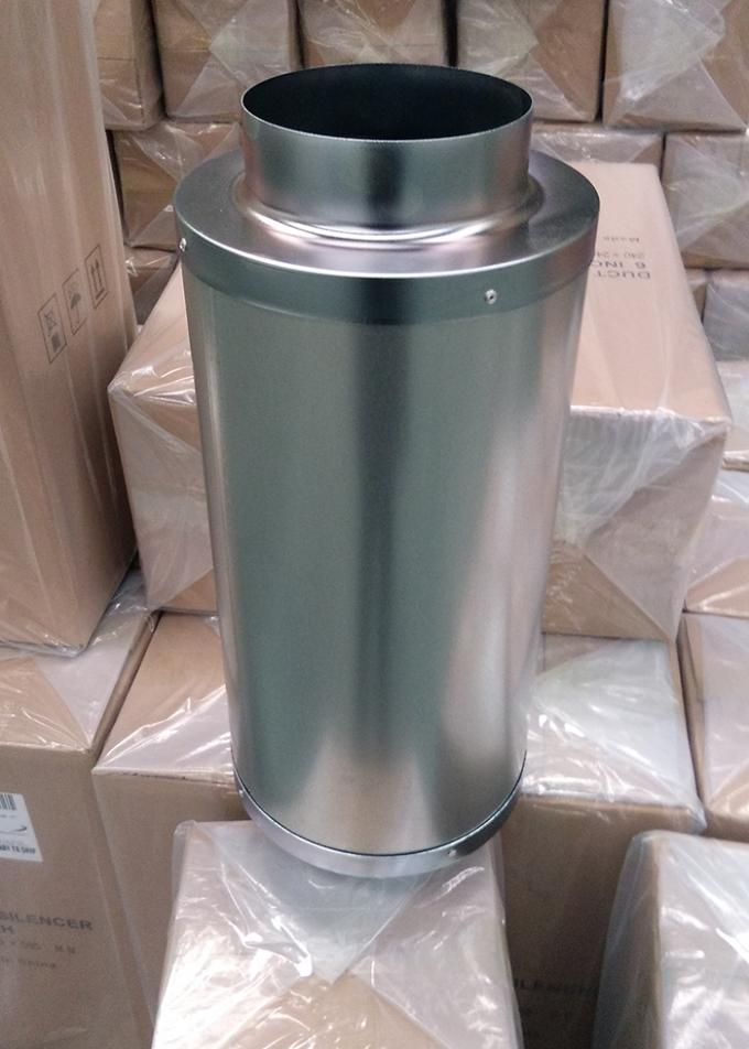 Galvanized Round   8 Inch Fan Silencer Eliminating Noise   Size  Available
