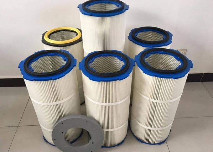 Reliable   Dust Collector Filter Cartridge Well Abrasive Resistance Galvanized
