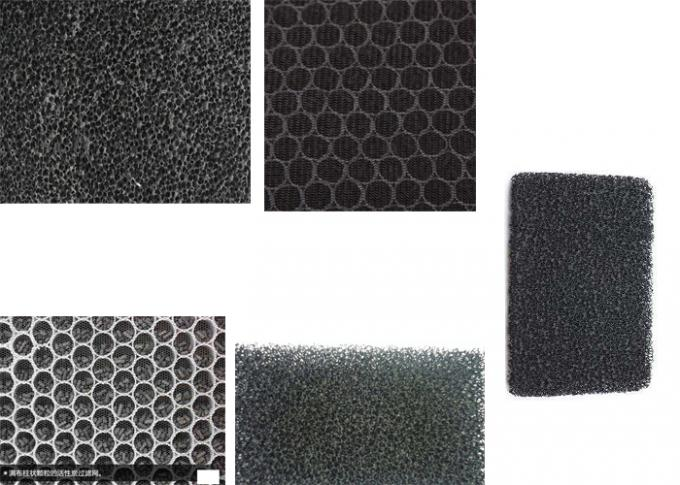 Panel Honeycomb Coconut Shell  Activated Carbon Mesh  Bad Air Removing