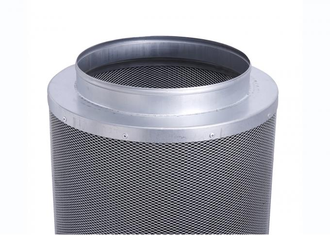 Reversible Flange  Activated Charcoal Air Filter  Carbon Dioxide Air Pollution Reducing