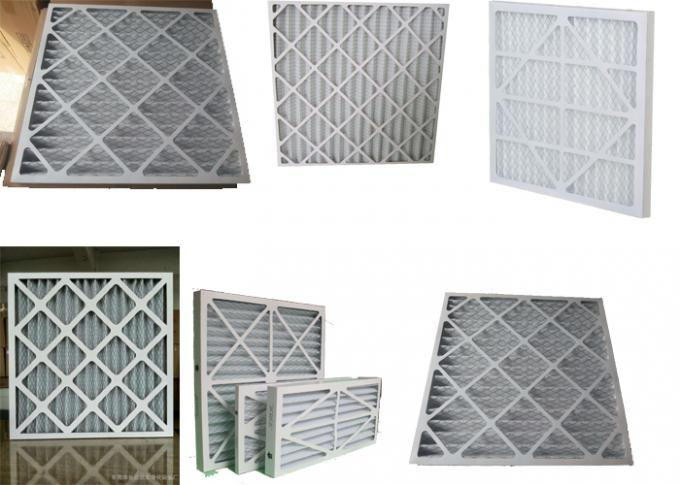 G4 Paper Cardboard Air Filter Galvanized Iron Mesh Included AHU System Supply