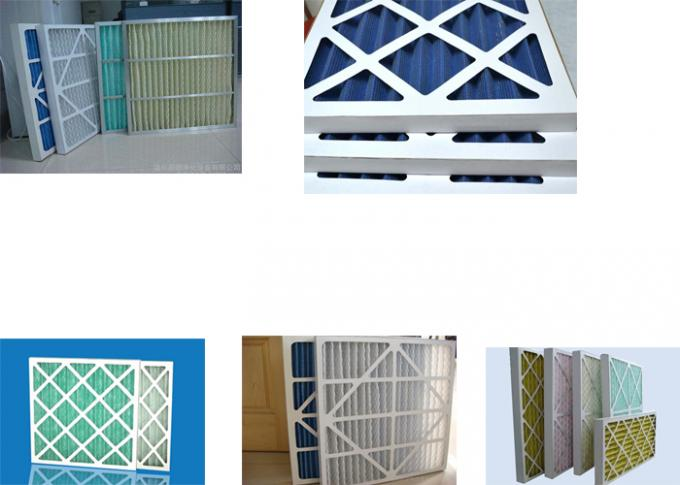 Air Handling Cardboard Air Filter Pleated Type Lower Weight Universal