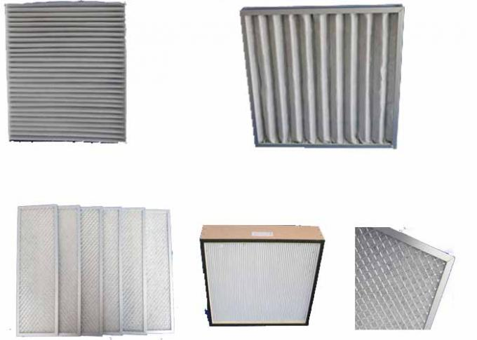 Central Air Condiitioning Ventilation Furnace Filter Metal Frame By Square Shape Mesh
