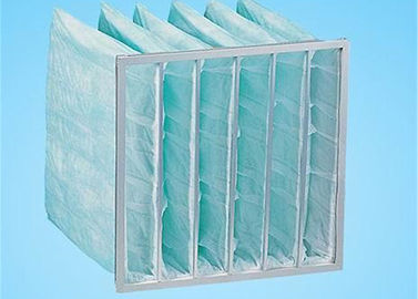 China Ventilation System Fan Filter Bag Air Filters G4 - F9 Customized Easy Installation supplier