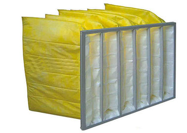 China Non Woven Fabric Bag Filters Hvac Ventilation System  Supply G4 - F9  610mm supplier