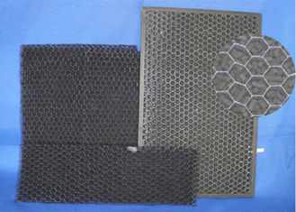 China High Air Flow  Activated Carbon Mesh ,  Low Resistance Home Charcoal Filter supplier