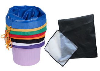 China Oil Repellent Black Orange Bubble Ice Bag , Agriculture Herbs High Efficiency Filter Bags supplier