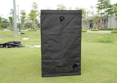 China Hydroponics Garden Indoor Greenhouse Tent  600D 40*40*120CM Black Color supplier