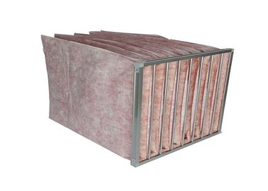 China Ventilation Air Filtration System  Bag Air Filters , Pocket Filter Media Euro Standard supplier
