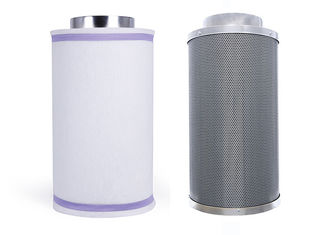 China 8 Inch Carbon Filter  Hydroponics Reversible Smell  Removal  Indoor Plants Supply supplier