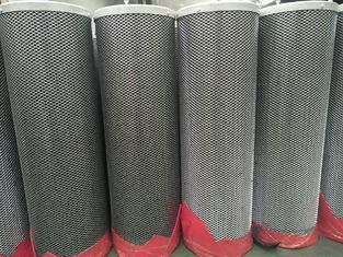 China clean room air handling filtration odor scrubbler 50% pure carbon pellet + 50% KMnO4 filter cylinder cartridge 145mm supplier