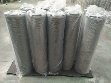 China 70% open area high CFM air handling activated carbon filter cylinder cartridge canister 145mm x 450mm supplier