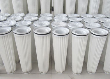 China OEM Coal Ash  Stone Powder  Dust Collector Filter Cartridge 18 - 24m2 Filtration Area supplier