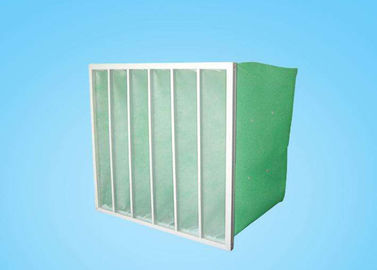 China Glass Fiber Bag Air Filters , Pocket Filter  For Central Ventilation System Air Conditioning supplier