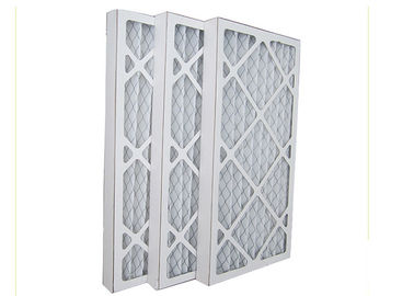 China HVAC  Pleat Panel Air Filter For Ventilation System Odor   Cleaning G3 G4 supplier