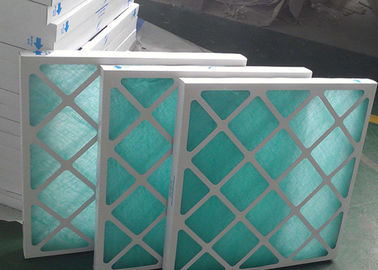 China Air Flow Mini Cardboard Air Filter , F7 Paper Frame Pleated Air Conditioner Filters supplier