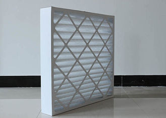 China FRS - PPF  Disposable  G4 Pleated Panel Filter Pre Filtering HVAC  MAU System Supply supplier