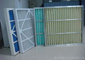 China Air Handling Cardboard Air Filter Pleated Type Lower Weight Universal supplier