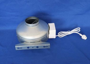 China Electric 2500rpm Industrial Inline Exhaust Fans With Galvanized Sheet Body  Hydroponic supplier