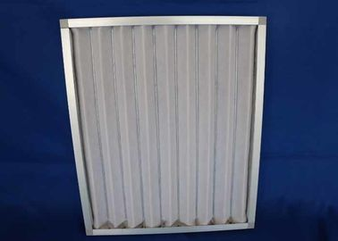China Railway Station  Airport Washable Metal Air Filters , Rectangle Handling System  Furnace Air Filter Frame supplier