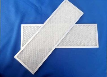 China Commercial  Metal Air Filter Frames For Building Hotel HVAC Air Filtration System Panel  G4 - F9 Efficiency supplier