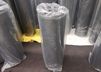 China 145mm X 450mm Carbon Filter Cartridge Cylinder canister Air Filter 55% Open Area supplier