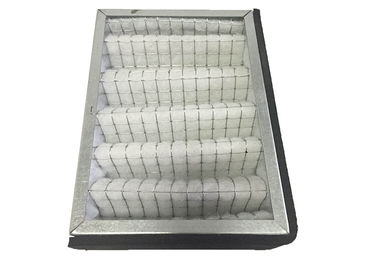 China Supermarket Kitchen Metal Air Filter Frames Oil Smoke Ventilation Air Filtration Handling Panel G4 - F9 distributor