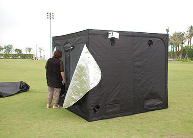 China Silver Mylar 600D 210D  Dark Room Tent  100*100*180CM For Indoor Hydroponics Cultivation distributor