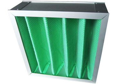 China High Hygiene  Green Bag Air Filters F8 F9 , Pocket Air Purifier Color Custom distributor