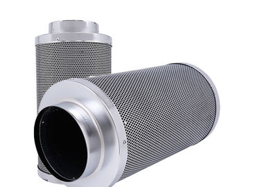 China 4 Inch Carbon Filter Hydroponics ,  Aluminum Inline Fan Odor Control Scrubber distributor