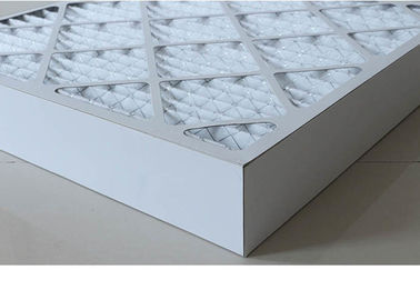 China HVAC Ventilation Cardboard Air Filter , G4 - F9 Carbon Panel Filter Colorful distributor