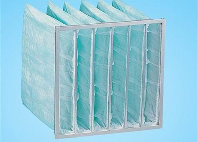 Ventilation System Fan Filter Bag Air Filters G4 - F9 Customized Easy Installation