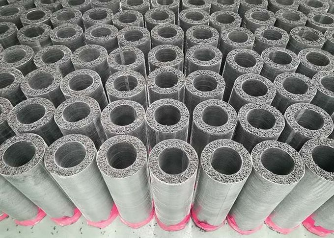 HVAC ventilation fan filter air filtration large airflow activated carb carbon filter cartridge cylinder 145mm x 450mm